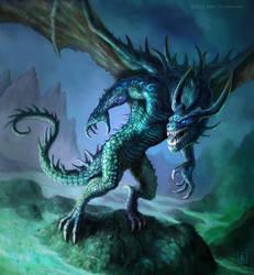 Soul Eater Wyrm by karichristensen