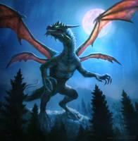 Nocturnal Drake by karichristensen