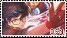 dancing star night stamp by kougaon