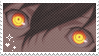 his eyes are so striking stamp by kougaon