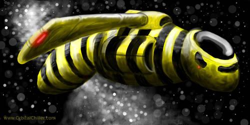 Yellow - Speedpainting by OrbitalChiller
