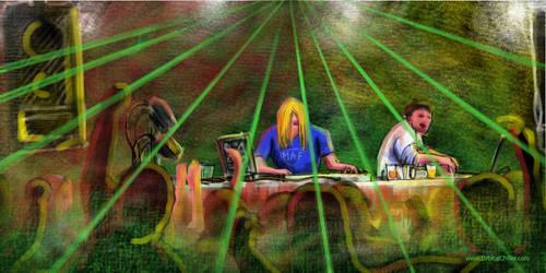 Music Speedpaint by OrbitalChiller