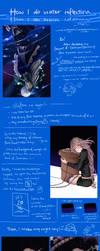 [SAI tutorial] Water Reflection by Sukiina