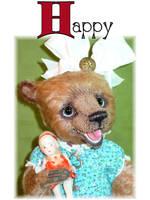 Happy 3 by montybearkins