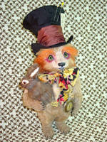 Hatta Mad Hatter Bear 1 by montybearkins