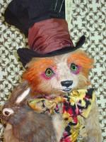 Hatta Mad Hatter Bear 2 by montybearkins
