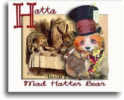 Hatta Mad Hatter Bear's Intro by montybearkins