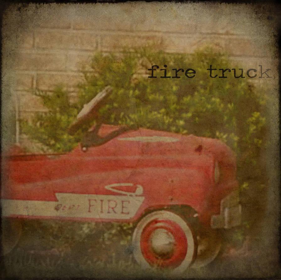 Fire Truck by montybearkins