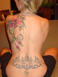 My Full Back Tattoo 1 by montybearkins