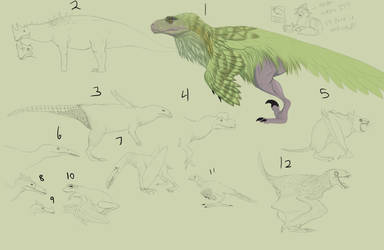 Animals from World of Kong Redesigned Redo by Troodontidae