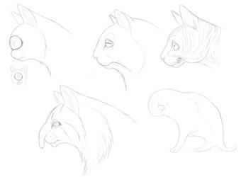 Mutant Kitties by Troodontidae