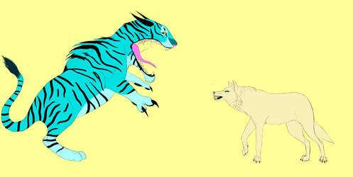 Lone Wolf by Troodontidae