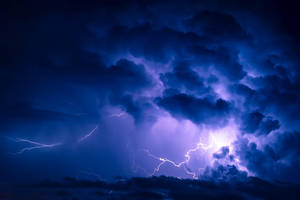 Stormy night by Perena