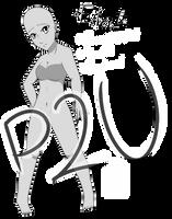 [P2U] Fullbody female base 50 pts by FurrStein
