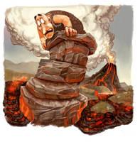 Lava-flow by Odysseusart