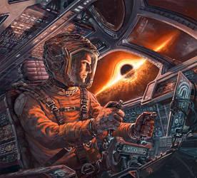 EXODUS: Event Horizon Cover art by Odysseusart