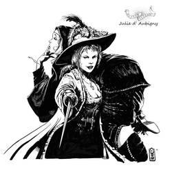 Outlaw legends Series: Julie d' Aubigny by Odysseusart