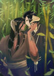 Keiten and Ushio [ FFXIV ] by Poticceli