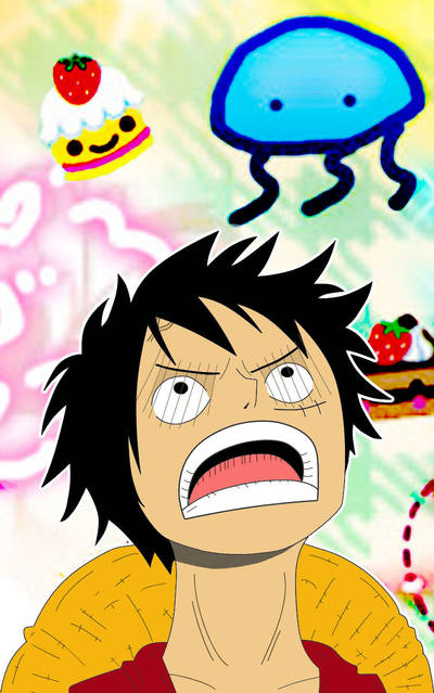 Luffy is Hungry x _ x by abcdefghijef