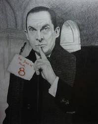 The original Sherlock Holmes - Jeremy Brett by mousykat