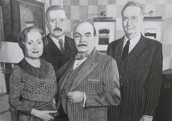 Hercule Poirot by mousykat