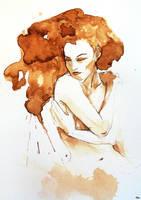 Smoky nude by ArcanePrayer