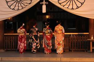 kimono girls by sharvani