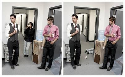 Office Murder 2 by glassdrum