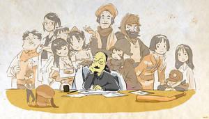 Tribute to Satoshi Kon by kosal