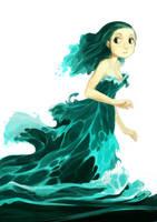 Water dress by kosal