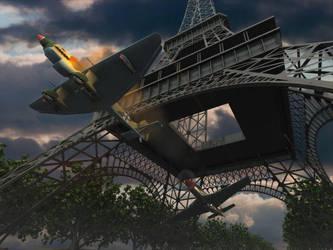 wings over Paris by arfur9