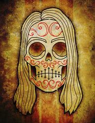 Rocker Skull by someofthathomegrown