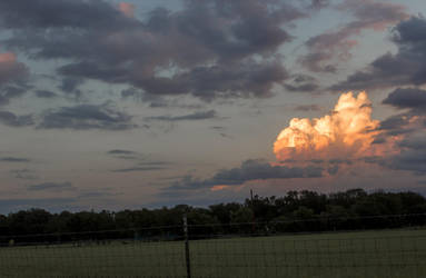 Clouds at Sunset I by J-Works