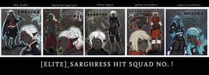 Drowtales: ELITE SARGHRESS HIT SQUAD by Starlitdragon