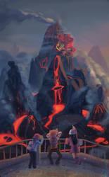 Stark Mountain summit by Figuritas