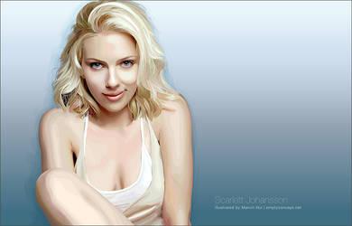 Scarlett Johansson by emptyconcept