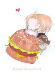 Mealtime by jildingroi