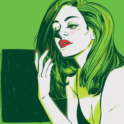 Lana Del Rey (Diet Mountain Dew) by Toniic