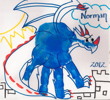 Norman The Dragon by dezbo21