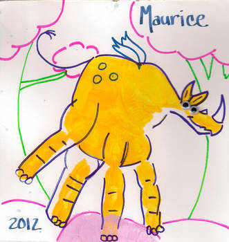 Maurice The Pompatus by dezbo21