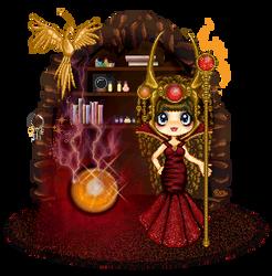 Phoenix Rising by MidnightStargazer