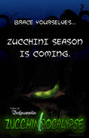 Tales of Beefgnawpolis: Zucchinipocalypse Cover by beefgnawpolis