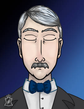 Farnsworth the Butler by beefgnawpolis