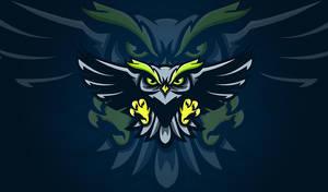 Owl logo mascot by Freilina
