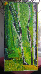 Seurat painting by Tiggidou