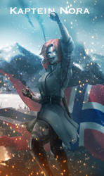 RWBY [WW2 Nations] Norway - Nora by ThyBlake