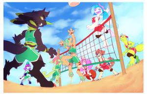 Volleyball Bash by ground-lion