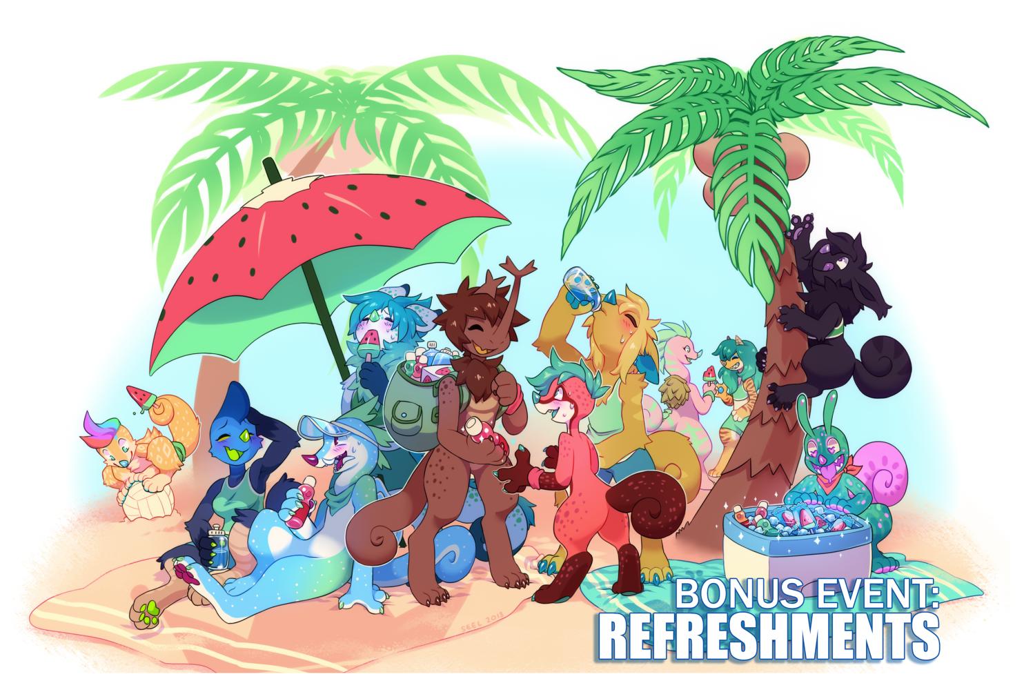 CLOSED - BONUS EVENT: Refreshments! by ground-lion