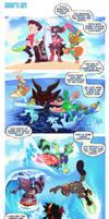 Surf's Up! - SSF Week 2 by ground-lion