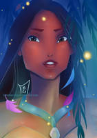 Pocahontas by Shiningfleur